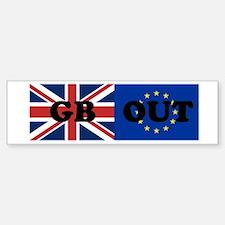 GB OUT Bumper Bumper Bumper Sticker