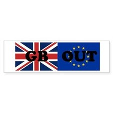 GB OUT Bumper Car Sticker