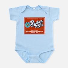 Texas Beer Label 1 Infant Bodysuit