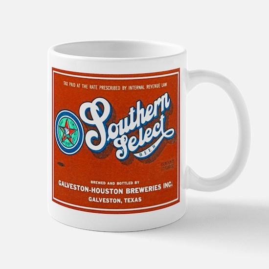 Texas Beer Label 1 Mug