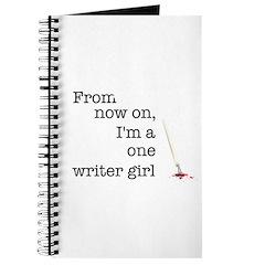 One writer girl Journal