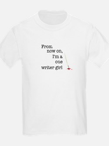 One writer girl T-Shirt