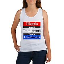 Illegals - Criminals Women's Tank Top