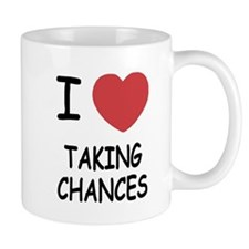 I heart taking chances Mug
