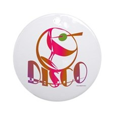 Disco Martini / Ornament (Round)