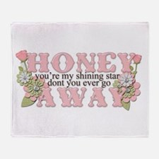 Honey Throw Blanket