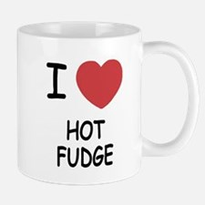 I heart hot fudge Mug