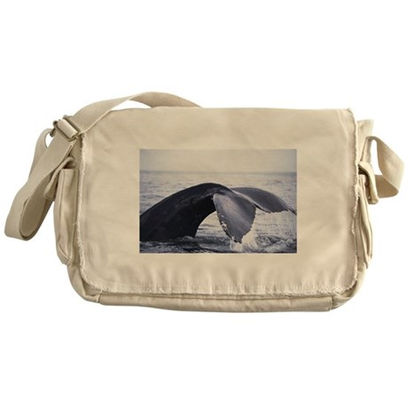 Whales Tail Messenger Bag