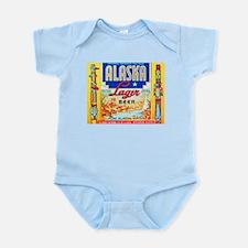Alaska Beer Label 1 Infant Bodysuit