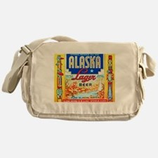 Alaska Beer Label 1 Messenger Bag