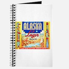 Alaska Beer Label 1 Journal