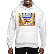 Alaska Beer Label 1 Hoodie
