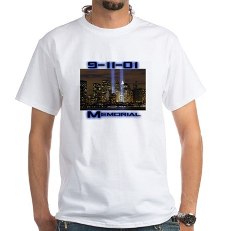 9.11.01 White T-Shirt