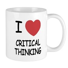I heart critical thinking Mug