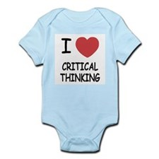 I heart critical thinking Infant Bodysuit