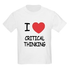I heart critical thinking T-Shirt