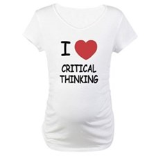 I heart critical thinking Shirt