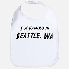 Famous in Seattle Bib