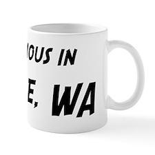 Famous in Seattle Coffee Mug