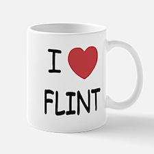 I heart flint Mug