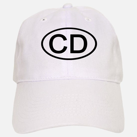 CD - Initial Oval Baseball Baseball Cap