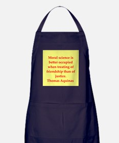 Saint Thomas Aquinas Apron (dark)
