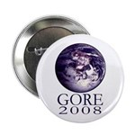 Earth Gore 2008 Campaign Button