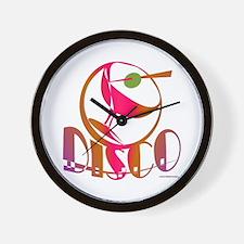 Disco Martini / Wall Clock