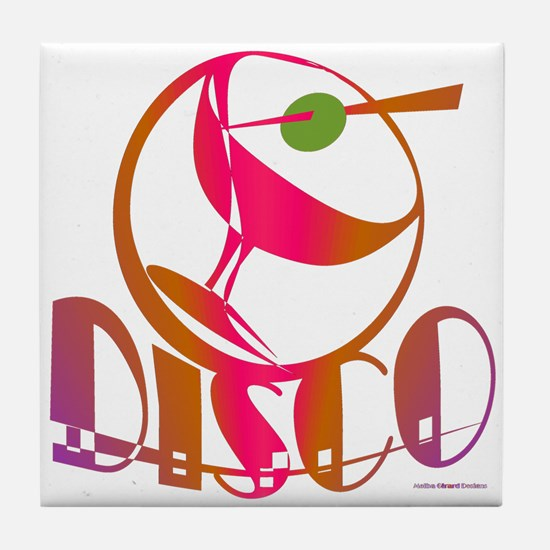 Disco Martini / Tile Coaster
