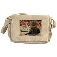 Gorgeous Brown Tabby Messenger Bag