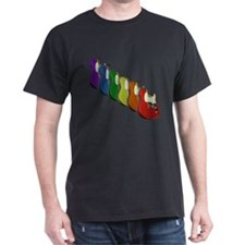 Guitar Rainbow T-Shirt