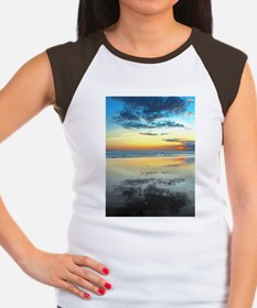 Blue Bali Sunset Women's Cap Sleeve T-Shirt