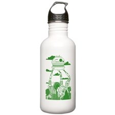 Funny Giant robots Sports Water Bottle