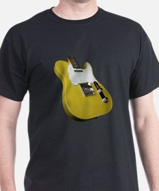 Yellow Guitar T-Shirt
