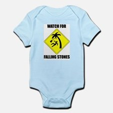 Watch for Falling Stones Infant Creeper