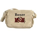 Boxer Dog Mom Gifts Messenger Bag