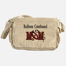 Redbone Coonhound Mom Messenger Bag