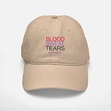 Blood Sweat Tears Baseball Baseball Cap