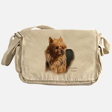 Australian Terrier Art Messenger Bag