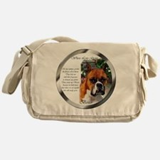 Boxer Dog Art Gifts Messenger Bag