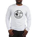 Long Sleeve Straight Grains T-Shirt