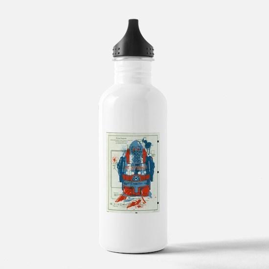 Giant robots Sports Water Bottle