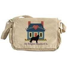 Cute Bedlingtons Messenger Bag