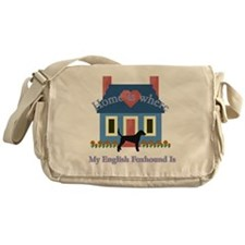 English Foxhound Home Messenger Bag