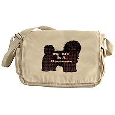 BFF Havanese Messenger Bag