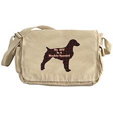 BFF Boykin Spaniel Messenger Bag