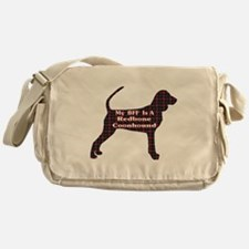 BFF Redbone Coonhound Messenger Bag