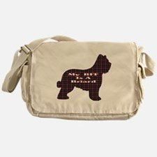 BFF Briard Messenger Bag