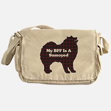BFF Samoyed Messenger Bag