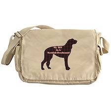BFF Scottish Deerhound Messenger Bag
